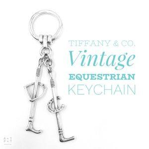 Tiffany & Co. Vintage Equestrian Keychain